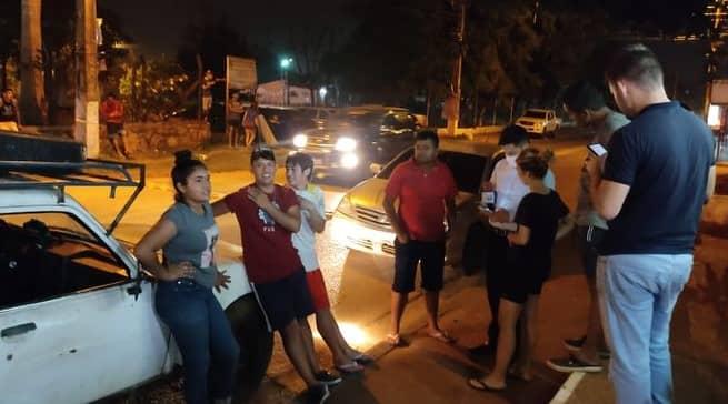 Turba ataca Comisaría para rescatar a joven detenido en San Lorenzo