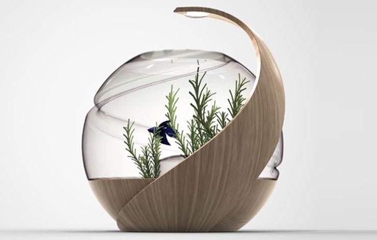 Avo Self Cleaning Fish Tank IPPINKA