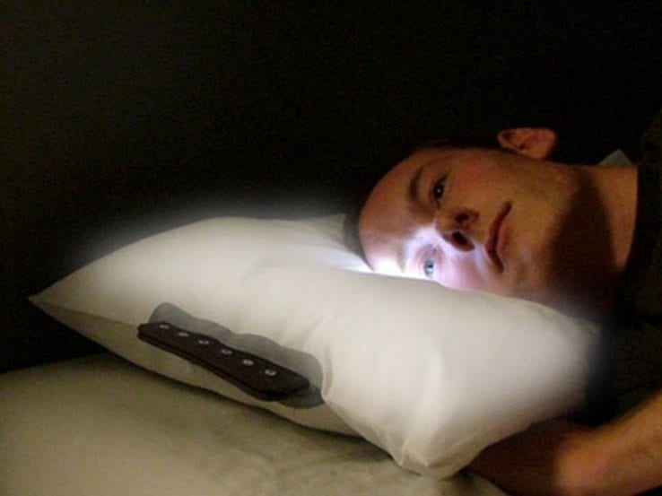 glo pillow wake up slowly and gently