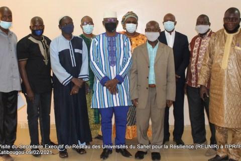 Visite du Secrétaire Exécutif du Réseau des Universités du SAHEL pour la Résilience (REUNIR) à l'IPR-IFRA