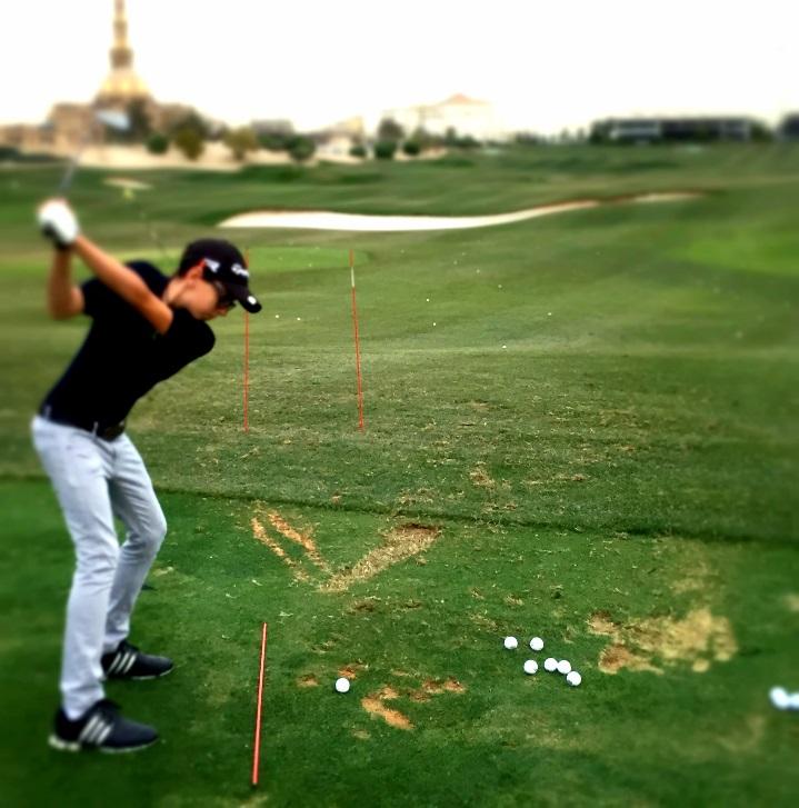 perfect practice using full swing