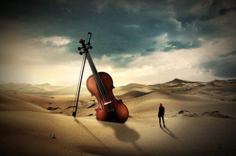 moderna elaborazione di un brano musicale