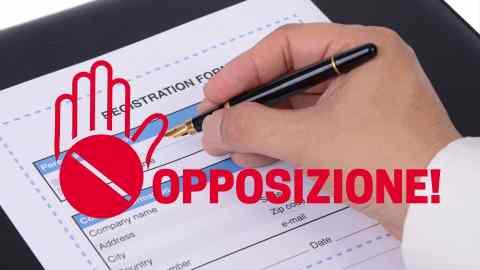 opposizione registrazione marchio