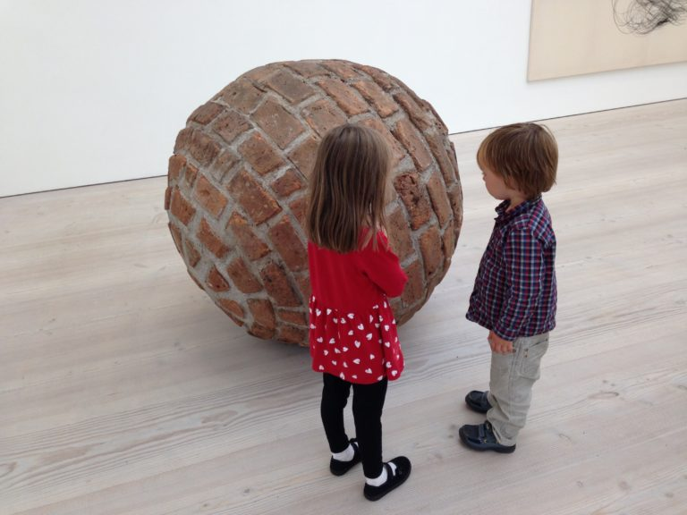 Two kids and a bowl - curiosity
