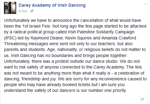 0. Feis statement