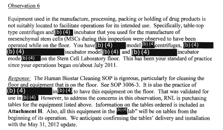 Celltex Observation 6