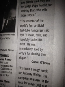 Conan O'Brien Stem Cells