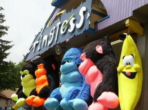 amusement park booth big stuffed animal