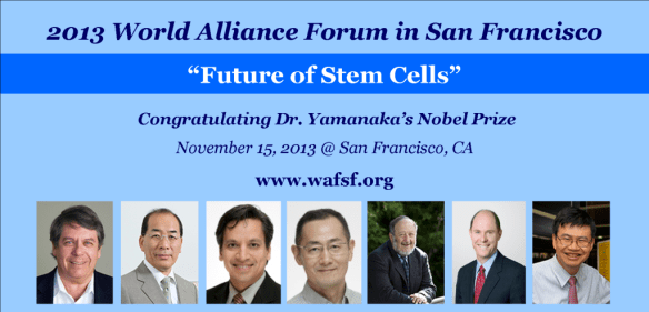 World Alliance Forum Stem Cells
