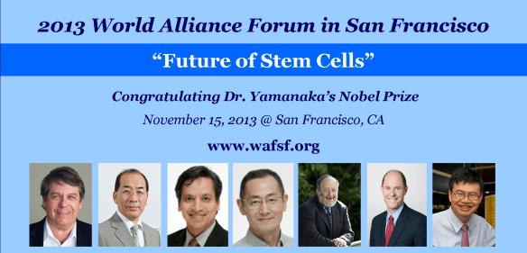World Alliance Forum Stem Cells