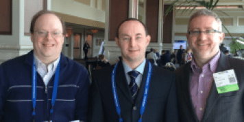 Paul, Alexey Bersenev, Lee Buckler at World Stem Cell Summit
