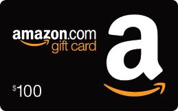 Amazon gift card $100