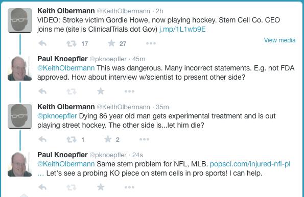 Olbermann Knoepfler Twitter