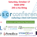3rd Annual Berkeley SSSCR Stem Cell Conference Oct. 17: Culturing a Stem Cell Community