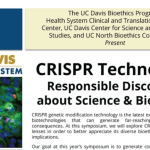 Blogging UC Davis CRISPR Science & Bioethics Meeting