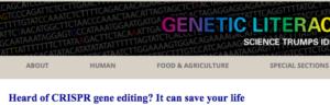 CRISPR Hype