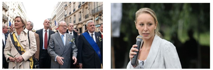 French National Front Party Founding Family