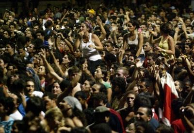 Los conciertos de Love & Peace Havana se distinguen por la participación de miles de jóvenes en importante plazas habaneras.