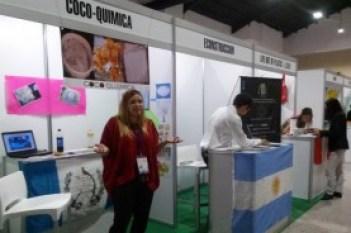 Andrea Zurdiga presentó un proyecto ecológico en el Foro de Jóvenes