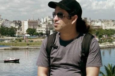 Marcelo Martín, director del documental El tren de la línea norte.