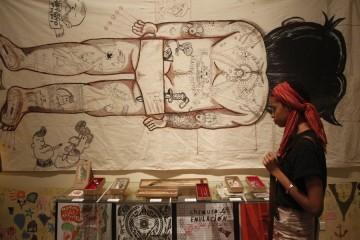 La Marca, estudio-galería de arte corporal del artista Leo Canosa, celebró el primer aniversario de su fundación. Popularmente Conocido como el primer local profesional de tatuaje en Cuba, con sede en el Centro Histórico La Habana Vieja, este local abr