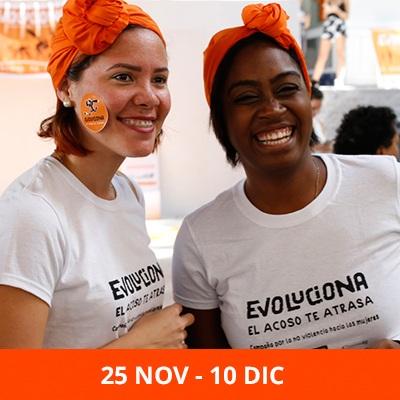 Jornada por la No Violencia hacia las mujeres y las niñas