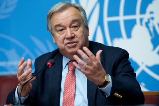Image result for U.S., China share Guterres' security concerns
