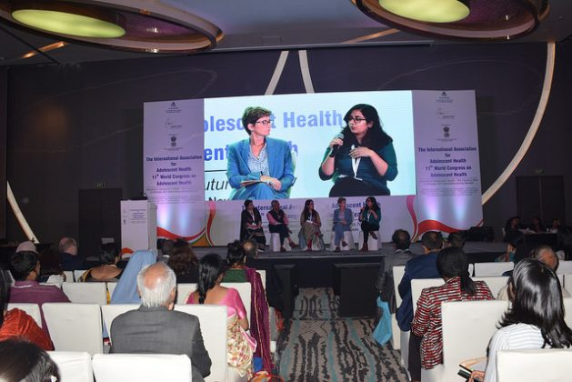 Attendees at the 11th Congress on Adolescent Health in New Delhi, Oct. 27-29, 2017. Credit: Stella Paul/IPS