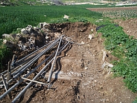 'Illegal'  Palestinian structure destroyed by Israeli Defence Forces. / Credit:Mel  Frykberg/IPS