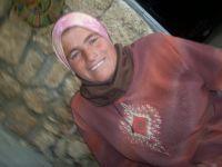 Amna Salman Rabaye, 31, was assaulted by an Israeli settler while seven months pregnant. / Credit:Mel Frykberg