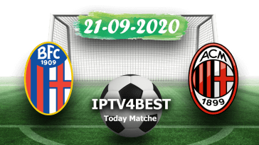 Live Match Bologne vs Milan 21-09-2020
