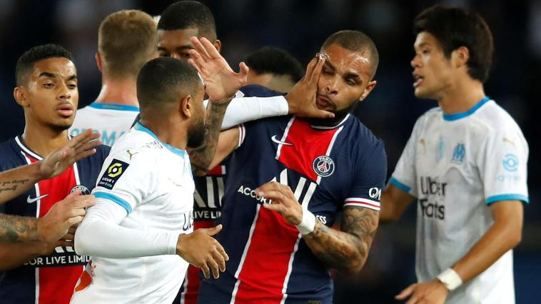 The hatred between PSG and Marseille