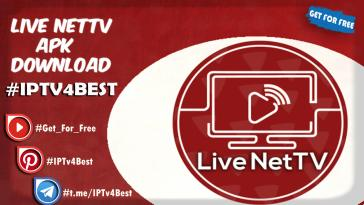 Live NetTV APK Download Latest Version By IPTV4BEST