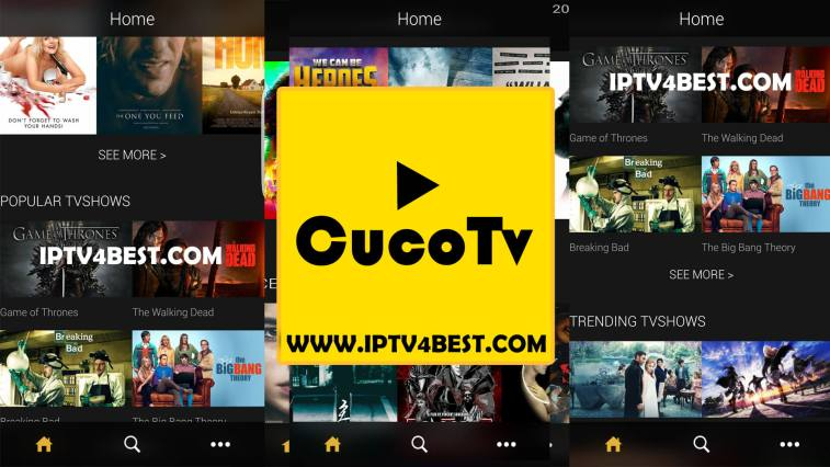 CucoTv Tv APK For Android Free Tv App By IPTV4BEST.COM