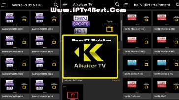 Alkaicer Tv APK Watch the latest Movies & Series 2021 By IPTV4BEST.COM