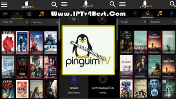 Pinguim Tv APK 2021 By IPTV4BEST.COM