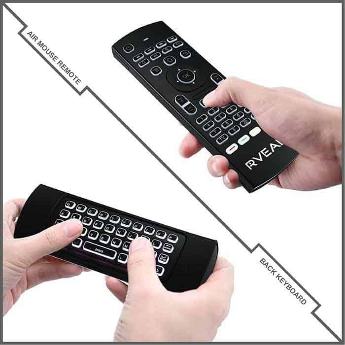 Rveal 2 controle de mouse de ar retroiluminado