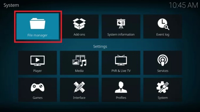 File manager - Voodoo IPTV