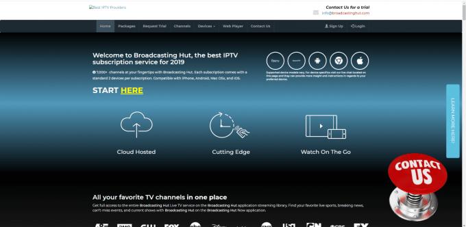 Broadcast Hut IPTV