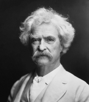 Mark Twain wrote that a country without a good patent system is doomed to go only sideways and backwards.