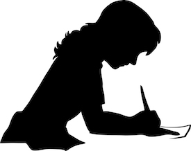 silhouette-woman-drafting