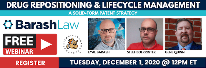 Solid-Form Patent Strategy Webinar