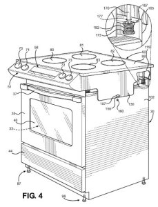 suspended cooktop