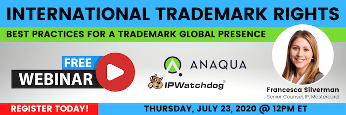 International Trademark Rights Webinar 07-2020