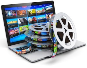 Digital video and mobile media concept