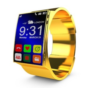 gold smart watches