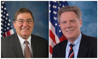 Congressman Michael Burgess (left) and Congressman Frank Pallone (right).