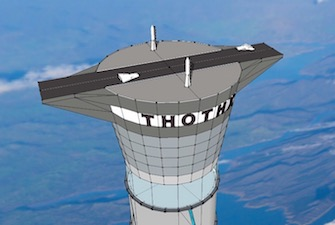 Thoth space elevator