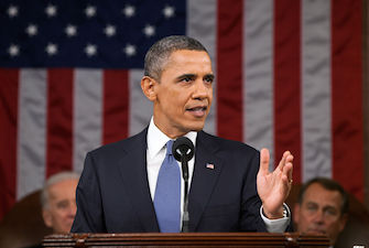 President Obama delivers State of the Union Address.