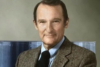 Seymour Cray, the father of supercomputing.